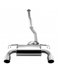 R34 APEXi RS Evo 304 SS Cat-Back Exhaust System with Split Rear Exit