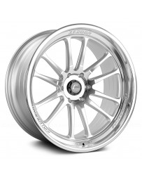 "COSMIS RACING - XT-206R Silver with Machined Face (22"" x 10"", 0 Offset, 6x139.7 Bolt Pattern, 106mm Hub)"