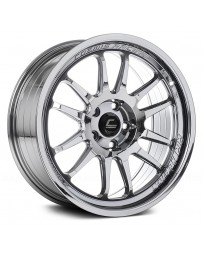 "COSMIS RACING - XT-206R Black Chrome (18"" x 9.5"", +10 Offset, 5x120.65 Bolt Pattern, 74.1mm Hub)"