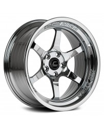 "COSMIS RACING - XT-006R Black Chrome (18"" x 9.5"", +10 Offset, 5x114.3 Bolt Pattern, 73.1mm Hub)"