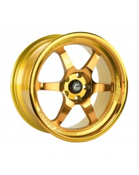 "COSMIS RACING - XT-006R Hyper Gold (18"" x 11"", +8 Offset, 5x114.3 Bolt Pattern, 73.1mm Hub)"