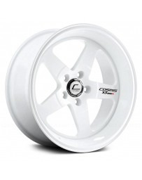 "COSMIS RACING - XT-005R White (18"" x 9"", +25 Offset, 5x120.65 Bolt Pattern, 74.1mm Hub)"
