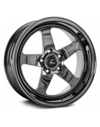 "COSMIS RACING - XT-005R Black Chrome (18"" x 9"", +25 Offset, 5x120.65 Bolt Pattern, 74.1mm Hub)"