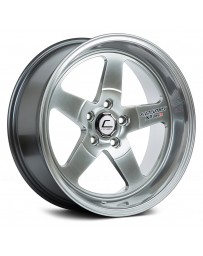 "COSMIS RACING - XT-005R Hyper Black (18"" x 9"", +25 Offset, 5x100 Bolt Pattern, 73.1mm Hub)"