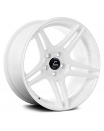 "COSMIS RACING - S5R White (17"" x 9"", +22 Offset, 5x114.3 Bolt Pattern, 73.1mm Hub)"
