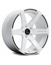 "COSMIS RACING - S1 White with Milled Spokes (18"" x 10.5"", +5 Offset, 5x114.3 Bolt Pattern, 73.1mm Hub)"