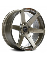 "COSMIS RACING - S1 Bronze with Milled Spokes (18"" x 10.5"", +5 Offset, 5x114.3 Bolt Pattern, 73.1mm Hub)"