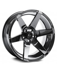 "COSMIS RACING - S1 Black Chrome (18"" x 10.5"", +5 Offset, 5x114.3 Bolt Pattern, 73.1mm Hub)"
