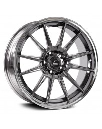 "COSMIS RACING - R1 PRO Black Chrome (18"" x 12"", +24 Offset, 5x114.3 Bolt Pattern, 73.1mm Hub)"