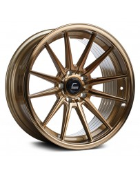 "COSMIS RACING - R1 Hyper Bronze (19"" x 9.5"", +20 Offset, 5x114.3 Bolt Pattern, 73.1mm Hub)"
