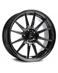 "COSMIS RACING - R1 Black Chrome (19"" x 9.5"", +20 Offset, 5x114.3 Bolt Pattern, 73.1mm Hub)"