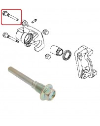 350z Non-Brembo Rear brake caliper upper slider pin