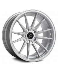 "COSMIS RACING - R1 Matte Silver (18"" x 8.5"", +35 Offset, 5x114.3 Bolt Pattern, 73.1mm Hub)"