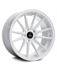"COSMIS RACING - R1 White (18"" x 8.5"", +35 Offset, 5x112 Bolt Pattern, 66.5mm Hub)"