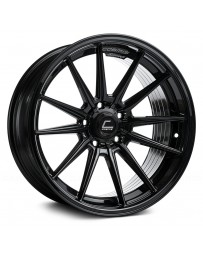 "COSMIS RACING - R1 Black (18"" x 8.5"", +35 Offset, 5x112 Bolt Pattern, 66.5mm Hub)"