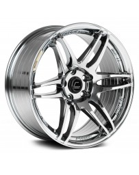"COSMIS RACING - MRII Black Chrome (18"" x 9.5"", +15 Offset, 5x114.3 Bolt Pattern, 73.1mm Hub)"