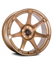 "COSMIS RACING - MR7 Hyper Bronze (18"" x 9"", +25 Offset, 5x100 Bolt Pattern, 73.1mm Hub)"