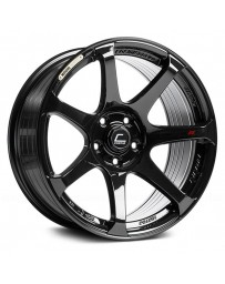 "COSMIS RACING - MR7 Black (18"" x 9"", +25 Offset, 5x100 Bolt Pattern, 73.1mm Hub)"