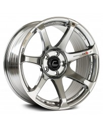 "COSMIS RACING - MR7 Black Chrome (18"" x 10"", +25 Offset, 5x114.3 Bolt Pattern, 73.1mm Hub)"
