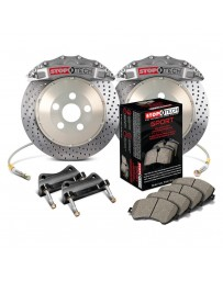 370z StopTech ST-60 Calipers 380x32mm Rotors Front Trophy Big Brake Kit