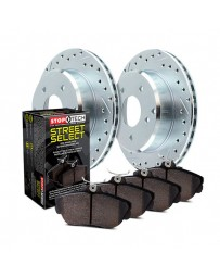 Nissan Juke Nismo RS 2014+ StopTech Select Sport Drilled and Slotted Rear Brake Kit