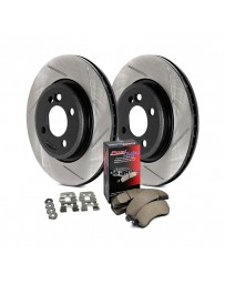 Nissan Juke Nismo RS 2014+ StopTech Street Slotted Front Brake Kit
