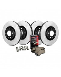 Nissan Juke Nismo RS 2014+ Centric Preferred Plain Front and Rear Brake Kit
