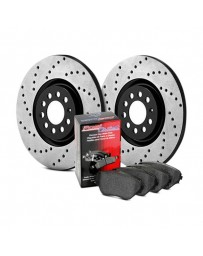 Nissan Juke Nismo RS 2014+ StopTech Street Drilled Rear Brake Kit
