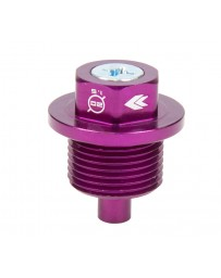 NRG Magnetic Oil Drain Plug M20X1.5 Subaru - Purple