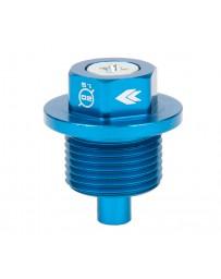 NRG Magnetic Oil Drain Plug M20X1.5 Subaru - Blue