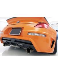 350z WeberSports Zenith Line Rear Bumper (FRP)
