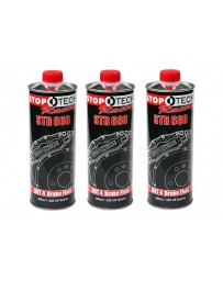 370z StopTech STR-600 High Performance Street Brake Fluid - Pack of 3