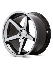 Ferrada FR3 Machine Black Chrome Lip 22x11 Bolt : 5x112 Offset : +10 Hub Size : 66.6 Backspace : 6.39