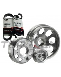 370z Unorthodox Racing Pulley Set with Belts