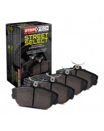 370z StopTech Street Select Brake Pad with Hardware Kit for Akebono brakes - FRONT