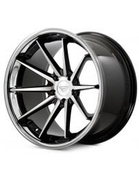 Ferrada FR4 Machine Black Chrome Lip 20x10.5 Bolt : 5x4.5 Offset : +15 Hub Size : 73.1 Backspace : 6.34