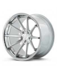 Ferrada FR4 Machine Black Chrome Lip 20x9 Bolt : 5x112 Offset : +23 Hub Size : 66.6 Backspace : 5.91