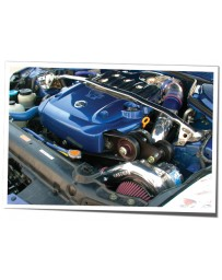 350z DE Vortech V-3 SCi Supercharger Tuner Kit, Polished, VQ35DE RevUp Engine - 2005-2006