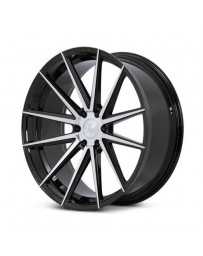 Ferrada FT1 Machine Black 24x10 Bolt : 6x5.5 Offset : +30 Hub Size : 78.1 Backspace : 6.68