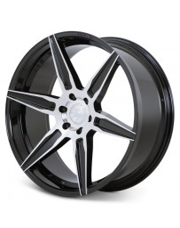 Ferrada FT2 Machine Black 22x9.5 Bolt : 5x150 Offset : +30 Hub Size : 110.5 Backspace : 6.43