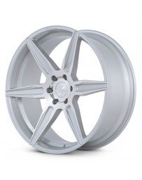 Ferrada FT2 Machine Silver 24x10 Bolt : 6x5.5 Offset : +30 Hub Size : 78.1 Backspace : 6.68