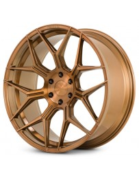 Ferrada FT3 Brushed Cobre 24x10 Bolt : 6x135 Offset : +30 Hub Size : 87.1 Backspace : 6.68