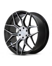 Ferrada FT3 Machine Black 22x9.5 Bolt : 6x5.5 Offset : +30 Hub Size : 78.1 Backspace : 6.43