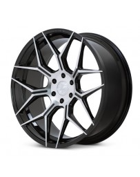 Ferrada FT3 Machine Black 24x10 Bolt : 6x5.5 Offset : +30 Hub Size : 78.1 Backspace : 6.68