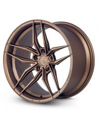 Ferrada F8-FR5 Matte Bronze 20x10 Bolt : 5x112 Offset : +33 Hub Size : 66.6 Backspace : 6.8