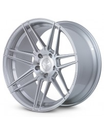 Ferrada F8-FR6 Machine Silver 20x10 Bolt : 5x4.5 Offset : +25 Hub Size : 73.1 Backspace : 6.48