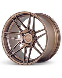 Ferrada F8-FR6 Matte Bronze 20x10.5 Bolt : 5x112 Offset : +27 Hub Size : 66.6 Backspace : 6.81