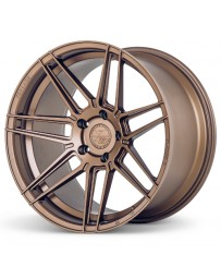 Ferrada F8-FR6 Matte Bronze 20x10.5 Bolt : 5x112 Offset : +40 Hub Size : 66.6 Backspace : 7.32