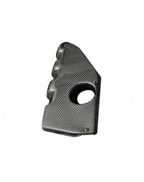 370z Carbon Fiber Engine Cover - For Stillen Dual Throttle Body Supercharger