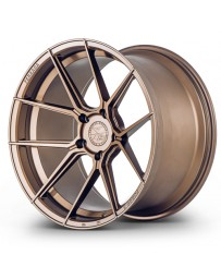 Ferrada F8-FR8 Matte Bronze 20x10 Bolt : 5x112 Offset : +33 Hub Size : 66.6 Backspace : 6.8